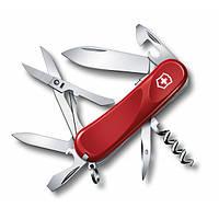 Victorinox Викторинокс нож Delemont Evolution S14 14 предметов 85 мм красный нейлон