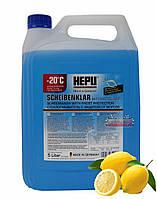 Зимняя жидкость HEPU Super Screenwash -30°C в бачок омывателя 5л. SK-C30-005