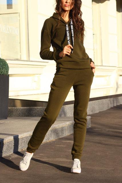 78be43d4ea42 Теплый спортивный костюм на флисе с капюшоном, размер 42, 44, цвета разные,  цена 740 грн., купить в Харькове — Prom.ua (ID#837811483)