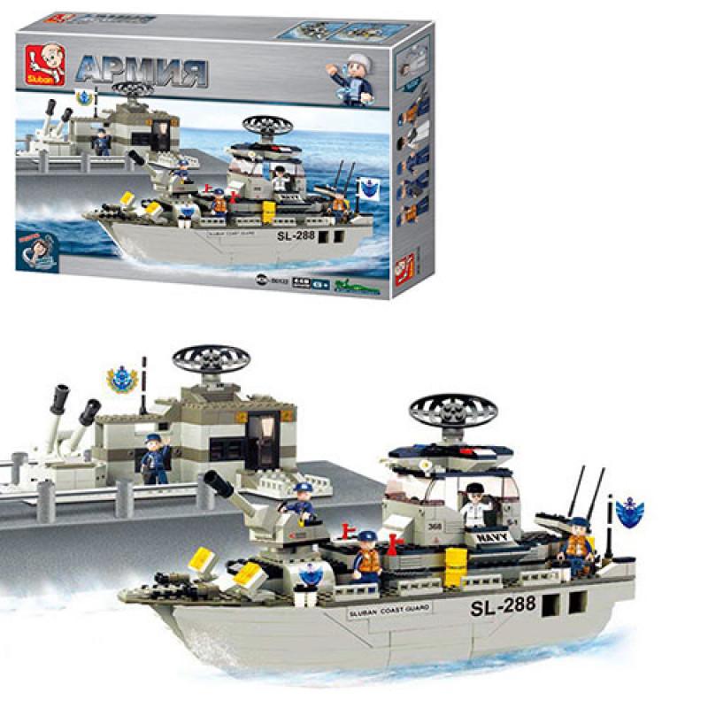 """Конструктор большой 449 деталей LEGO. """"Армия"""" Военный морской"""