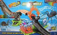 Трек Kutch Wheel с машинкой пауком