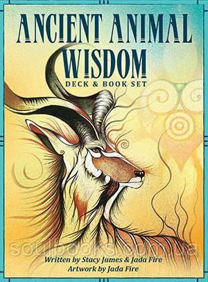"""Карты """"Ancient Animal Wisdom Oracle"""" (Древняя мудрость животных - Оракул)."""