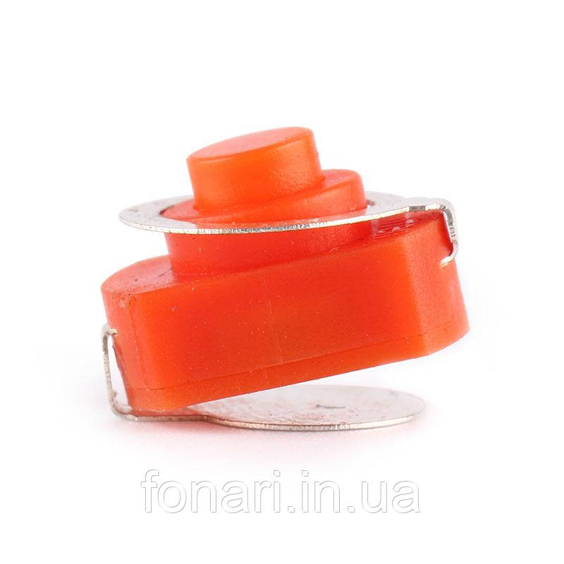 Кнопка Replacement Clicky 12mm orange