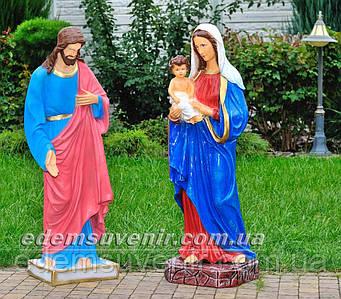 Фигуры Иисус большой и Дева Мария с младенцем большая