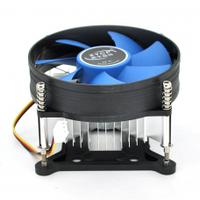 Кулер процессорный LGA 1156/1155/ i3/i5/i7, 90-mm, 3-pin, Blue
