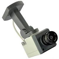 Муляж камеры видеонаблюдения CAMERA DUMMY XL018, видеонаблюдение муляж, уличная камера муляж , фото 1