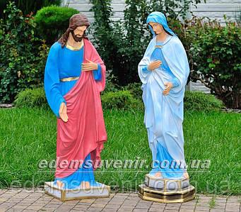 Фигуры Иисус большой и Дева Мария большая