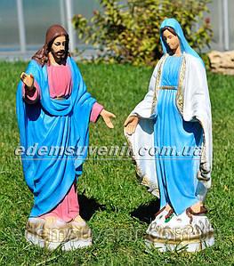 Фигуры Иисус малый и Дева Мария малая