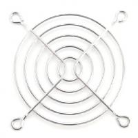 Решетка (гриль) для вентиляторов 80mm, Silver