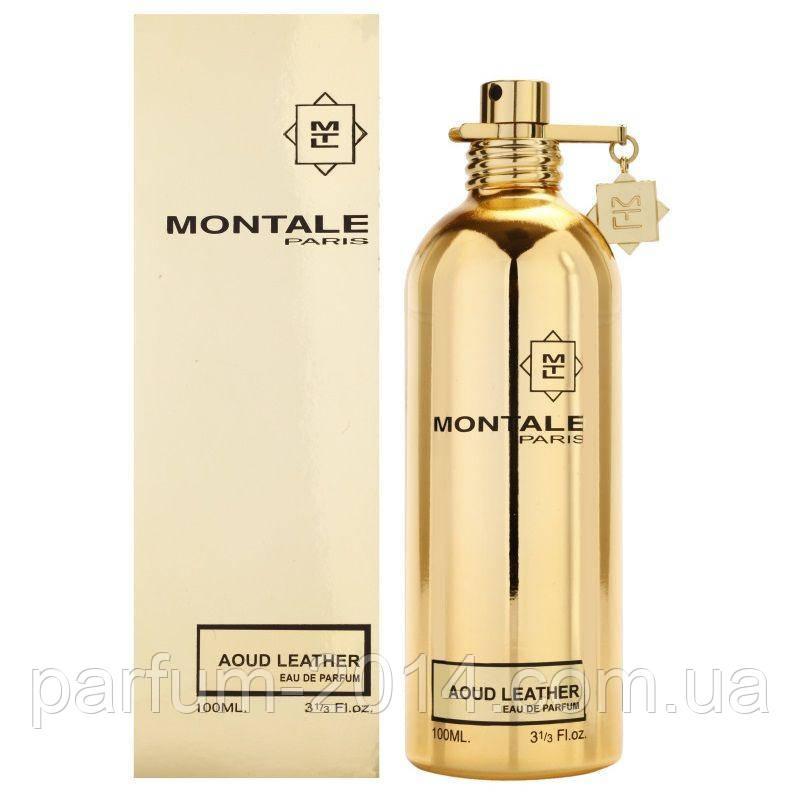 Парфумована вода Montale Aoud leather (репліка)