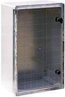 Шкаф ударопрочный из АБС-пластика e.plbox.600.800.260.tr, 600х800х260мм, IP65 с прозрачной дверцей