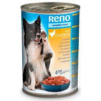Влажный корм для собак Reno с мясом птицы 415 г