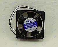 Бытовой  квадратный осевой вентилятор (квадратный) 5-ТИ ЛОПОСТНОЙ 120Х120Х38, 220 V мощностью 23wTidar (Китай)