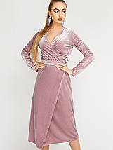 Женское велюровое платье-халат (Франческа leо), фото 3