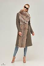 Женское пальто  капучино, фото 2