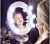 Подарок девушке на Новый год-Зеркало для макияжа цвет на заказ, фото 2
