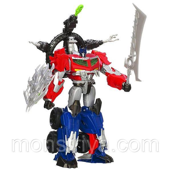 Transformers Робот трансформер Beast Hunters Optimus Prime Action Figure