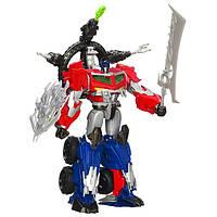 Transformers Робот трансформер Beast Hunters Optimus Prime Action Figure, фото 1