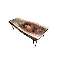 Стол дизайнерский журнальный WorkShop из массива Дуба, КОД: 162159