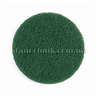 Скотч-брайт диск на липучке 125х10 мм P240 (зеленый) 3М 94605