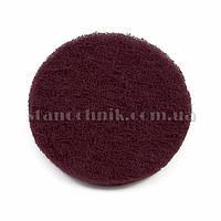 Скотч-брайт диск на липучке 125х10 мм P320 (красный) 3М 94600