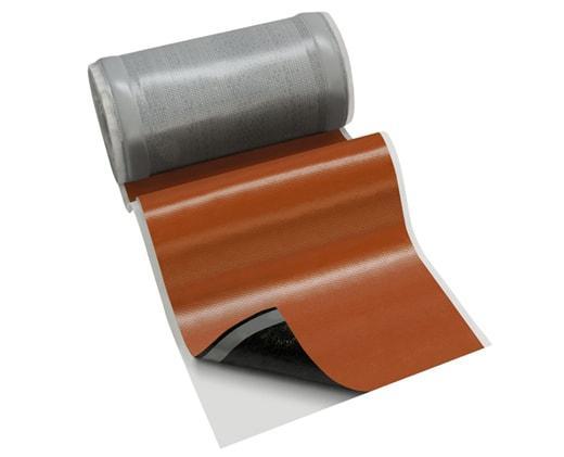 Лента для обработки примыкания BRAAS WAKAFLEX длина 10 м Красный (0399)