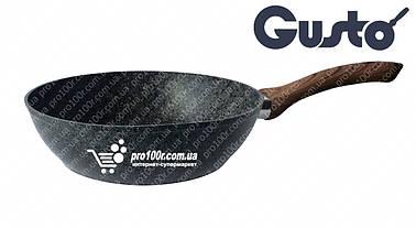 Сковорода 28 см глубокая Gusto Granite GT-2103-28