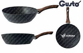 Сковорода 28 см глубокая Gusto Granite GT-2103-28, фото 2