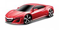 Игровая автомодель 2013 Acura NSX Concept красный (свет. и звук. эф.), М1:24, 2шт. бат. АА в компл. Maisto AKT-81224 red