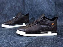 "Зимние кроссовки на флисе Nike Blazer Mid ""Brown"" (Коричневые), фото 2"
