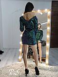 Женское нарядное платье из паеток. Фото реальное!, фото 2