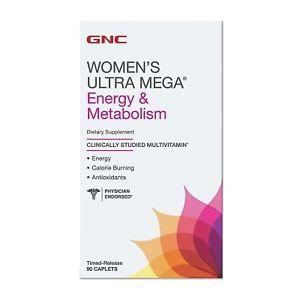 GNC Women's Ultra Mega Energy Metabolism 90 caplets