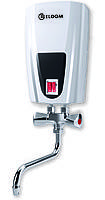 Электрический проточный водонагреватель Eldom 5 kw E51 краны (E5kwE51)