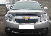 Дефлектор капота (мухобойка) Chevrolet Orlando 2010-