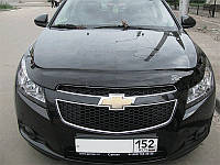 Дефлектор капота (мухобойка) Chevrolet Cruze 2009-