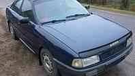 Дефлектор капота (мухобойка) Audi 80 (B3) 1986-1991
