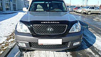 Дефлектор капота (мухобойка) Hyundai Terracan 2001–2007