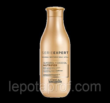 Кондиционер для сухих волос L'oreal professionnel SÉRIE EXPERT NUTRIFIER CONDITIONER, 200 мл.