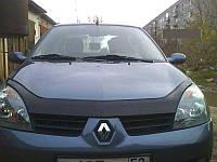 Дефлектор капота (мухобойка) Renault Symbol 2008-