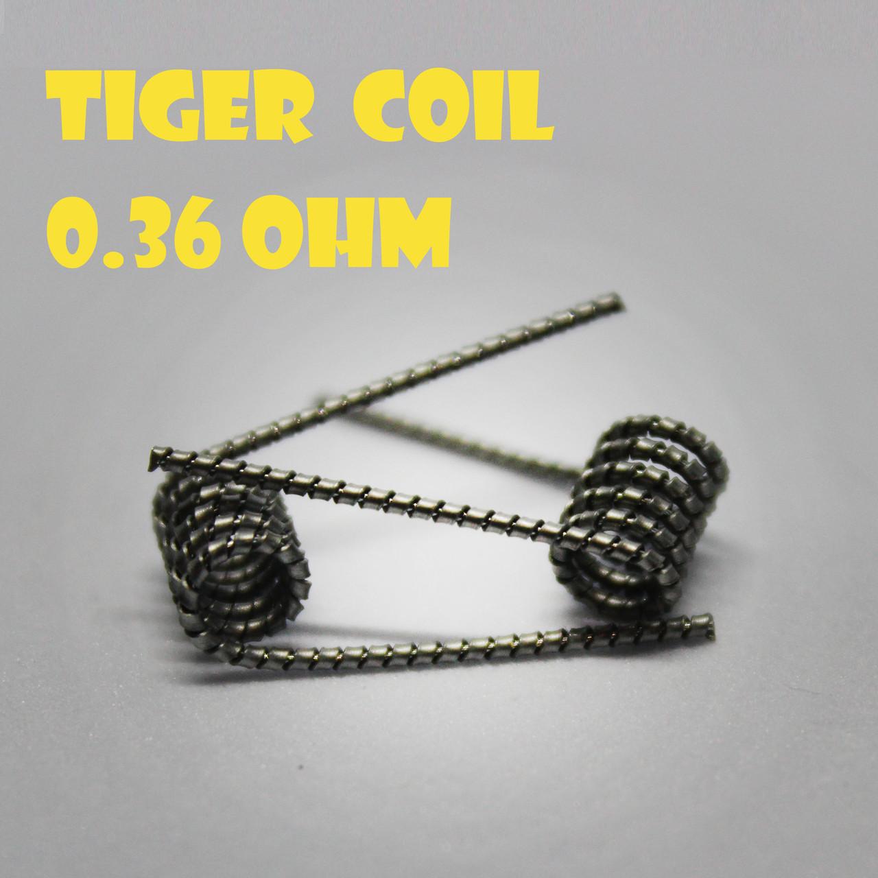 Tiger coil Готовая спираль 0.36 ohm пара