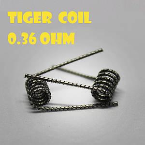 Tiger coil Готовая спираль0.36 ohm пара