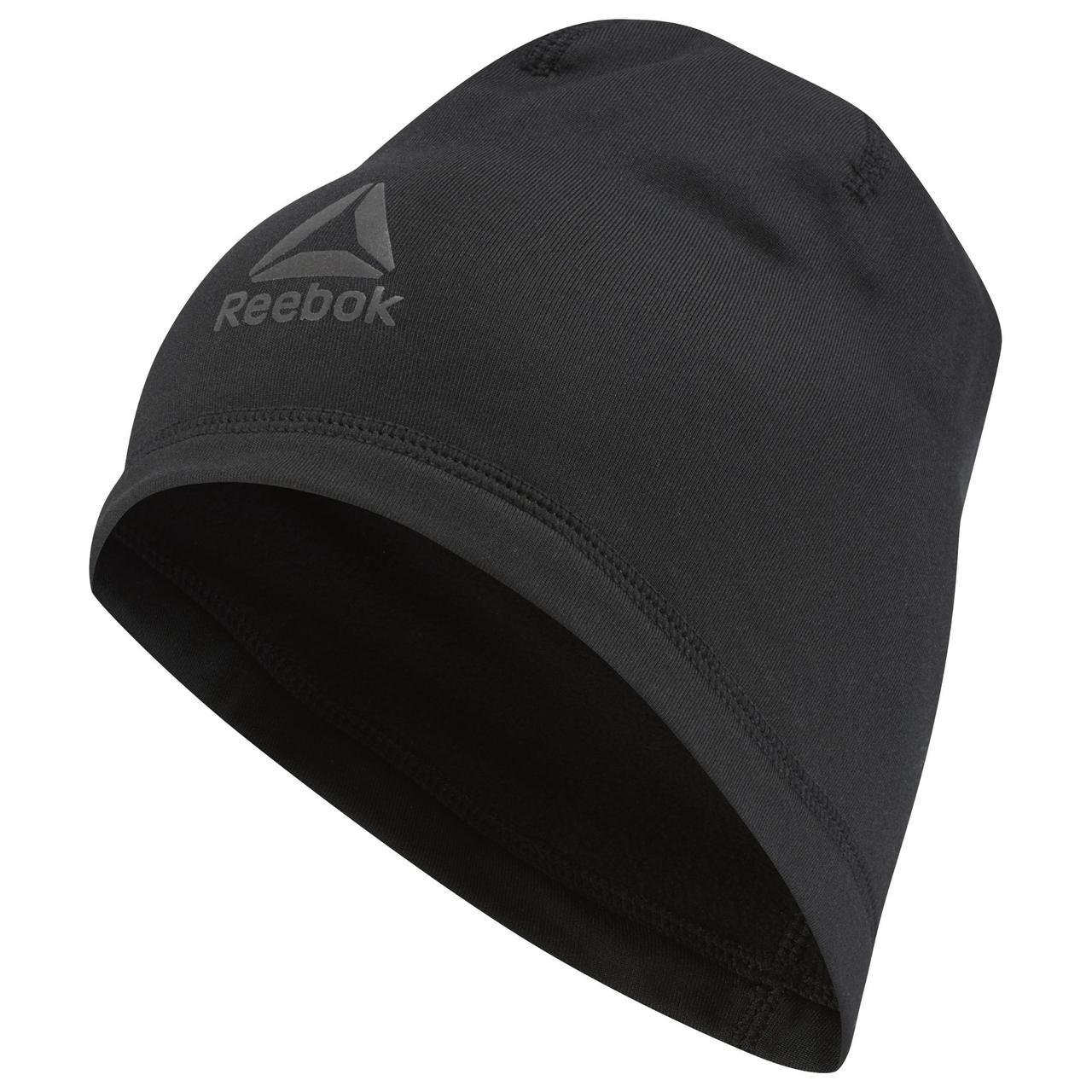 Reebok шапка os run beanie чоловіча D68157
