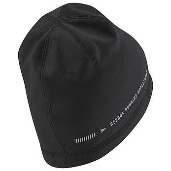 Reebok шапка os run beanie чоловіча D68157, фото 2