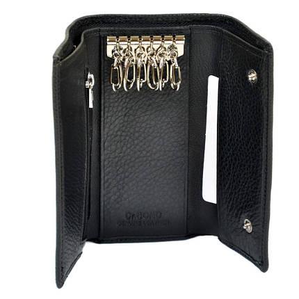 Гаманець ключниця чоловіча Dr. Bond з натуральної шкіри., фото 2