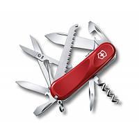 Victorinox Викторинокс нож Delemont Evolution S17 15 предметов 85 мм красный нейлон