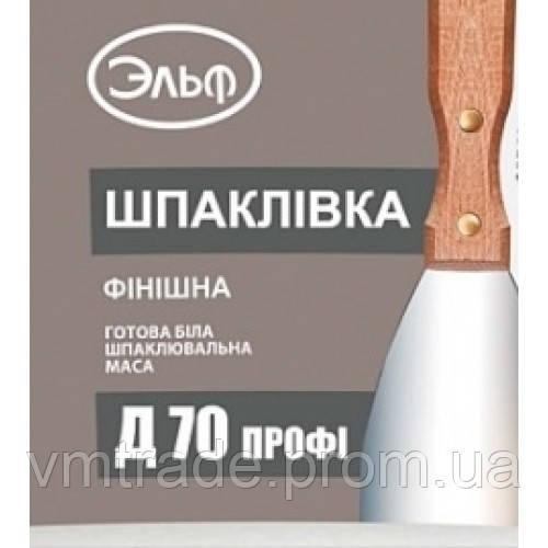 Эльф Акриловая шпаклевка Д-70 ПРОФИ, 27 кг