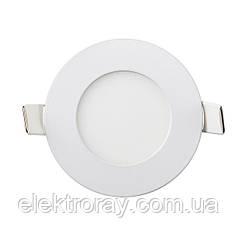 Светодиодный светильник Down Light Metal 3W 4200k круглый точечный