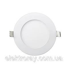 Светодиодный светильник Down Light Metal 6W 4200k круглый точечный