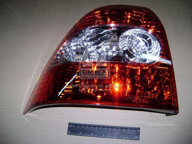 Фонарь задний левый ВАЗ 2170 без ламп (пр-во ДААЗ), 21700-371603100