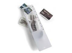 Закладка для книг с линейкой и лупой V2427-02-AXL